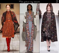 Folk fashion trend fall 2014