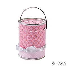 Valentine Treat Bucket Project