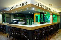 Interiér Restaurantu Kandelábr - bar