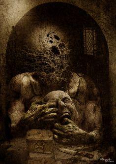 The Flesh Mask by 09alex.deviantart.com on @DeviantArt