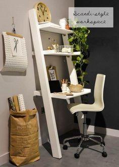 So kannst du am schönsten eine Leiter in dein Interieur einarbeiten - Heimbüro