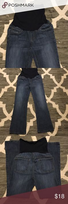 "Motherhood Maternity Jeans size Small Bootcut Size Small. Full panel and so comfy. Inseam is 30"". Motherhood Maternity Jeans Boot Cut"