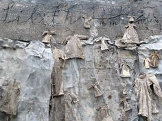 """Anselm Kiefer - German painter and sculptor born in 1945. """"Remains of a human tragedy."""""""