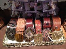 Belts @ The Green Goddess Boutique.