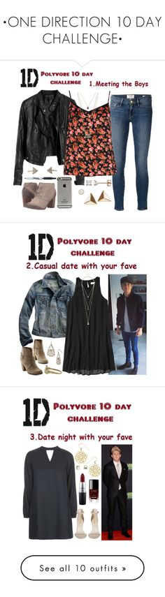 """""""•ONE DIRECTION 10 DAY CHALLENGE•"""" by fanficqueen13 ❤ liked on Polyvore featuring Aéropostale, Frame, LC Lauren Conrad, Boohoo, Forever 21, TOMS, Taylor Grace, OneDirection, Madewell and Abercrombie & Fitch"""