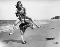 Women circa 1925: Swimsuit styles has come and go, but these women show looking hot in swimwear is totally timeless. Take in these 80 vintage babes in bathing suits to get in the summer mood.