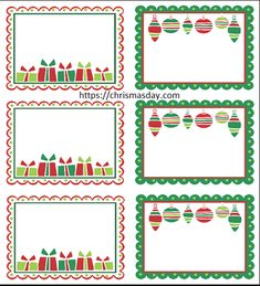 14 Best Free Editable Christmas Labels Images