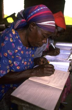 women who overcame poverty | THEME: Functional literacy can empower poor rural women.