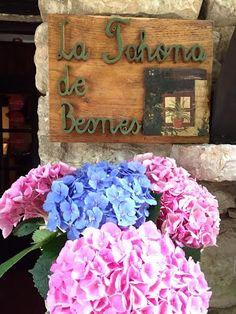 La Tahona de Besnes hotel in Alles, Spain. #hotel #alles #spain #flowers #exterior #holiday #travel #travelspain #vacation