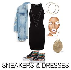 """Untitled #4"" by karina-lu-1 on Polyvore featuring Vans, LE3NO, Charlotte Russe and Vanessa Seward"