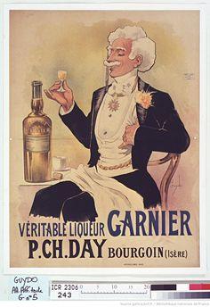 Véritable liqueur Garnier. P. Ch. Day, Bourgoin (Isère). : [affiche] / Guydo