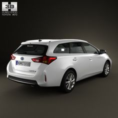 72bf2a48fe Buy Toyota Auris Touring Hybrid 2013 by on The model was created on real  car base.