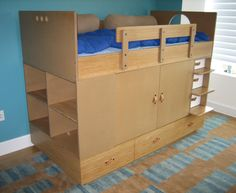 Modern kids bedroom furniture designs and ideas — Casa Kids Kids Bedroom Furniture Design, Kids Bed Furniture, Modern Kids Bedroom, Custom Furniture, Bedroom Ideas, Casa Kids, Bunk Beds Built In, Bunk Rooms, Bed In Closet