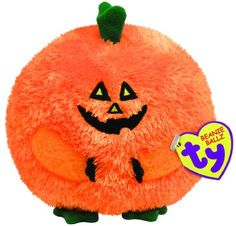 Ty Beanie Ballz Carver - Pumpkin