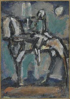 Georges Rouault, Jeanne d'arc, Harmonie verte on ArtStack #georges-rouault #art