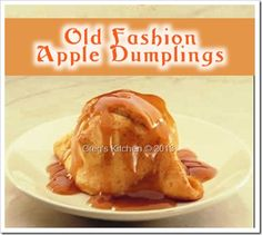 Apple Dumplings 3 points Biggest Loser Recipes You Might Like Sweet Potato No-Skins Suzys Fettucine Alfredo Chicken Cordon Bleu Broke Bean Stew weight-watchers Skinny Recipes, Ww Recipes, Apple Recipes, Light Recipes, Cooking Recipes, Recipies, Fall Recipes, Skinny Meals, Sweet Recipes