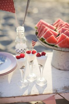 Fourth of July Party: http://www.stylemepretty.com/living/2015/06/21/35-outdoor-parties-worth-celebrating/