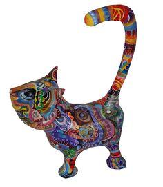 Paper Mache Sculpture, Sculptures, Lion Sculpture, Statue, Cat, Cat Breeds, Cats, Kitty, Sculpture