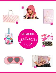 Gifts For the Jet-Setter| Treat your traveler friends with something from this list! All available on dormify.com