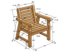 These free Adirondack chair plans will help you build a great looking chair in just a few hours, Build one yourself! Here are 18 adirondack chair diy Diy Furniture Couch, Diy Chair, Furniture Projects, Rustic Furniture, Wood Projects, Luxury Furniture, Garden Furniture, Kids Woodworking Projects, Woodworking Furniture Plans