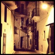 Via Giusti. Alberobello