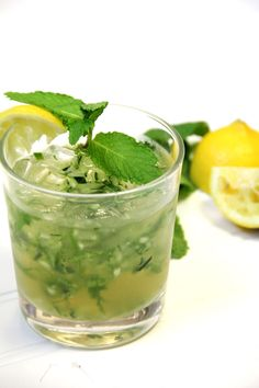 : Mint and Cucumber Refresher