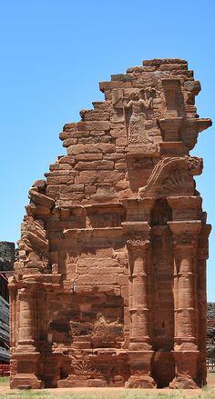 Ruinas Jesuíticas. Corrientes. Argentina