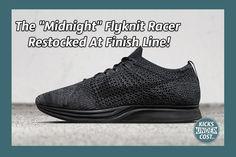 "The ""Midnight"" Flyknit Racer Restocked At Finish Line!"