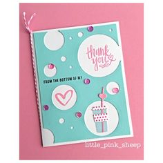 "Handmade ""Thank you card"""