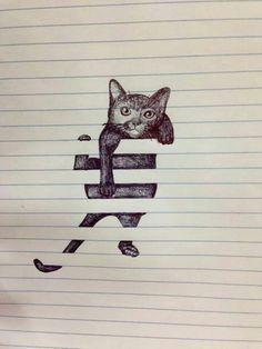 Auch katzen können auf >blöcke< klettern^^ Mehr