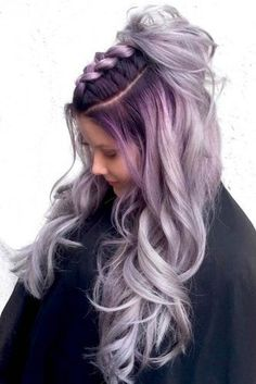 Silver Ombre Hair Looks for Ladies Who Prefer Cooler Tones ★ See more: http://lovehairstyles.com/silver-ombre-hair/