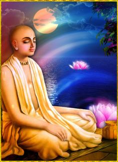 "♥ Shri Krishna Chaitanya Mahaprabhu ♥""Let me first offer my respectful obeisances unto Lord Chaitanya Mahaprabhu, who is the ultimate goal of life for one bereft of all possessions in this material world and is the only meaning for one advancing in spiritual life.""~Chaitanya-charitamrita, Adi-lila 7.1"