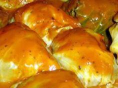 Rellenos de repollo  Stuffed cabbage (Salvadorian recipe)