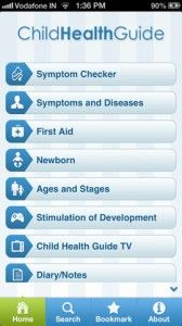 Before you pick up the phone to call your pediatrician about your baby's cough, rash, or other ailment, take a look at the Child Health Guide app, which includes videos of common illnesses so you'll know what to look for.