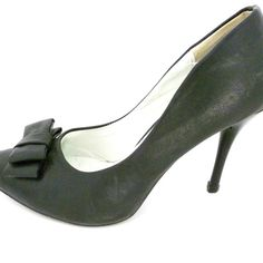 """Pre-Loved 'Shop Sweet' Black Shoes - PL355 - 13.00 AUD - Pre-Loved 'Shop Sweet' black shoes, size 9 (39) with 3½"""" heel.  Some scuff marks, however still in good condition. - Easy Paypal checkout, most credit cards are welcome. - Within 7 Days (Australia)"""