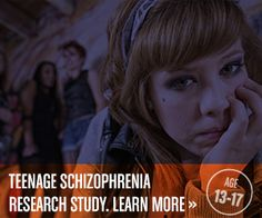 A global study is now enrolling teens with symptoms such as paranoia, hearing voices, unusual movements, and agitation. See if your teen qualifies. No insurance needed. http://teenschizophrenia.com/125.htm
