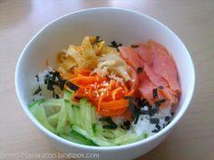 """Bento-Mania Chirashi-Sushi (""""Streu-Sushi"""" in einer Schale)"""