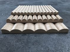 Fluted / Scalloped – wide flute – wide flute – wide flute Ribbed – wide ribs – wide ribs – wide ribs Battened – batten with groove – batten with groove – batten with groove Black Painted Walls, Painting Textured Walls, Wood Wall Design, Wall Painting Living Room, Joinery Details, Rustic Wall Art, Building Materials, Decoration, Panelling