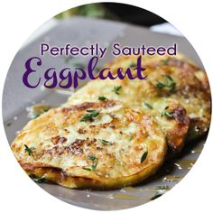 How to Cook Eggplant — soak in milk; dust with sea salt and flour and pan fry into golden brown; drizzle with honey and sprinkle with fresh thyme and sea salt.