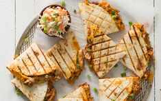 Grilled Barbeque Chicken Quesadilla