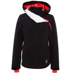 Spyder AMP Jacket Damen Skijacke schwarz #spyder #skibekleidung #outlet #sporthausmarquardt