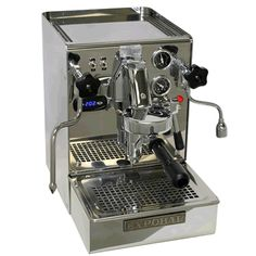Expobar Brewtus IV with Vibration Pump.  The best espresso machine for the home!!