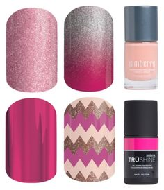 """""""Jamberry Nails - Colors - Pink"""" by kspantonjamon on Polyvore featuring beauty"""