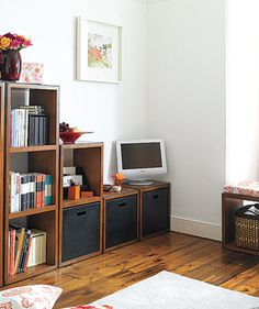 Make it modular   Clean out the junk and make your living space tidier with these de-clutter tips!
