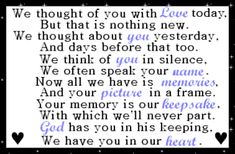 thoughts, peace quotes, heart, happy birthdays, famili, aunts, memories, angels, heavens