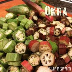 ▶ (Play) A quick look at my healthy southern style okra. #flipagram Video - http://flipagram.com/f/Yky4KSHXxI