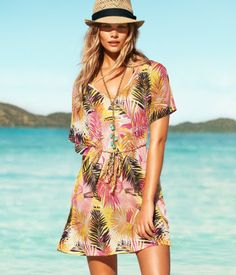 Bought this beach dress at H & M yesterday for $12.95!  Can't wait to wear it by the pool!