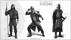The Order of X – Cyclops – Nate Hallinan – Concept Artist