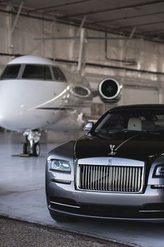 Rolls Royce and Private Jet Get into the glamour and expensive taste vibes, all about rich goals and luxury lifestyle dreams are here, so don't worry about those living Voiture Rolls Royce, Rolls Royce Cars, Jets Privés De Luxe, Jet Privé, Luxury Private Jets, Billionaire Lifestyle, Best Luxury Cars, Mercedes Benz Amg, Mclaren Mercedes