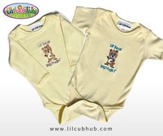 74a9a97fb2a8 Dress your lil' cubs in these adorable, unique baby onesies from Lil' Cub